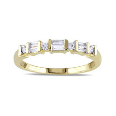 1/5 CT. T.W. Diamond 10K Yellow Gold Anniversary Ring