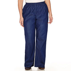 Alfred Dunner® Chambray Pull-On Pants - Plus