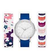 Mixit Womens Multicolor Strap Watch-Fmdjps091