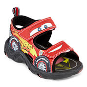 Disney Cars Boys Sandals - Little Kids