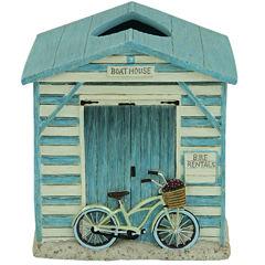 Bacova Beach Cruiser Tissue Box Cover