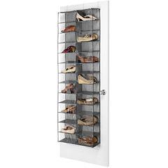 Whitmor Over-the-Door Shoe Shelves