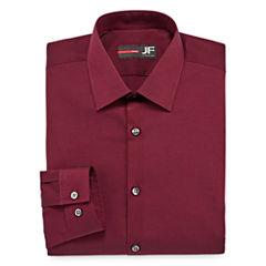 J.Ferrar Easy-Care Stretch Slim Fit Long Sleeve Dress Shirt