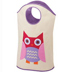 Whitmor Kids Canvas Hamper Tote Owl