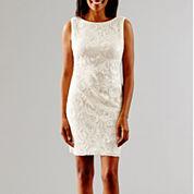 SL Fashions Sleeveless Sequin Wedding Dress