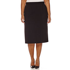 Worthington® High-Waist Pencil Skirt - Plus