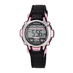 Armitron® ProSport Womens Digital Sport Chronograph Watch 45/7036PNK