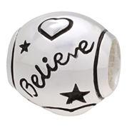 Forever Moments™ Believe/Love Charm Bracelet Bead