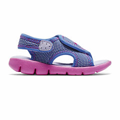 Nike® Sunray Adjustable Girls Sandals - Toddler