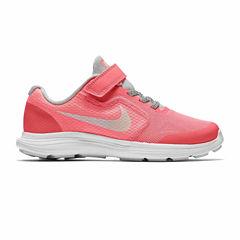 Nike® Revolution 3 SE Girls Running Shoes - Little Kids