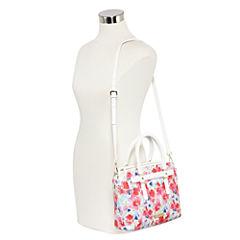 Liz Claiborne Mini Tuxedo Tote Bag