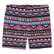 Total Girl Solid Bike Shorts - Big Kid Girls