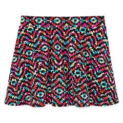 Total Girl Knit Skater Skirt - Big Kid Girls