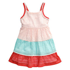Young Land Sleeveless Sundress - Toddler Girls