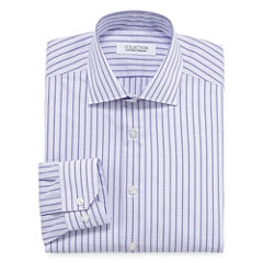 Collection by Michael Strahan  Wrinkle- Free Cotton Stretch Big & Tall Long Sleeve Dress Shirt