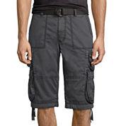 Decree Canvas Cargo Shorts