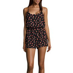 City Streets Sleeveless Romper