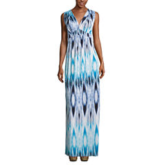 a.n.a® Sleeveless Empire-Waist Maxi Dress