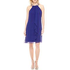 Scarlett Embellished A-Line Dress