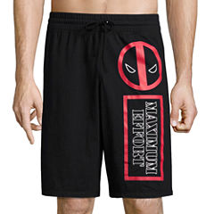 Deadpool Knit Pajama Shorts