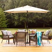 Outdoor Oasis™  Latigo 7pc Rectangular Dining Set