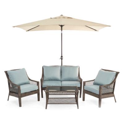 Charming Outdoor Oasis™ Latigo 4pc Conversation Set