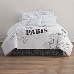 Home Expressions Paris Complete Bedding Set with Sheets