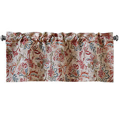 Vitera Multi-Color Rod-Pocket Tailored Valance