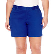 a.n.a Chino Shorts-Plus
