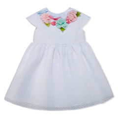Marmellata Sleeveless Empire Waist Dress - Baby Girls