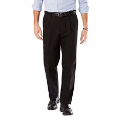 Dockers® D4 Signature Relaxed-Fit Pleated Khakis