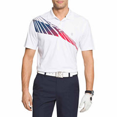 IZOD Golf Set Sail Short Sleeve Polo Shirt