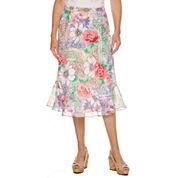 Alfred Dunner Classics Flared Skirt