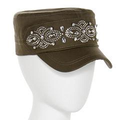 Embroidered Cadet Cap
