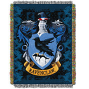 Harry Potter Ravenclaw Crest Tapestry Throw