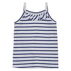 Okie DokieSleeveless T-Shirt-Toddler Girls
