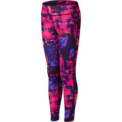 New Balance Solid Leggings - Big Kid Girls