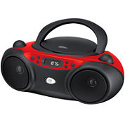 GPX BC232R Sporty CD and Radio Boombox