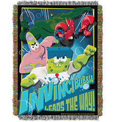 SpongeBob SquarePants Invincibubble Tapestry Throw