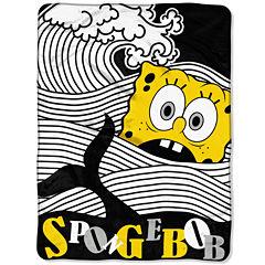 SpongeBob SquarePants At Sea Throw