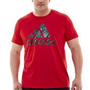 adidas® Adilogo Shock Energy Tee–Big & Tall