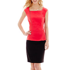 Worthington® Peplum Top or Modern Seamed Skirt