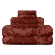 Royal Velvet® 6-pc. Signature Soft Damask Bath Towel Set
