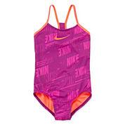 Nike® Print One-Piece Swimsuit - Girls 7-14