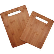 Totally Bamboo® 2-Piece Cutting Board Set
