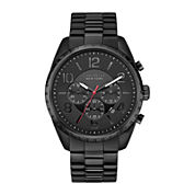 Caravelle New York® Mens Black Dial Chronograph Watch 45B122