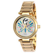 Invicta Angel Womens Gold Tone Bracelet Watch-24450