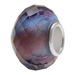 Forever Moments™ Blue & Purple Faceted Charm Bracelet Bead