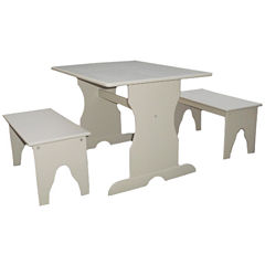Juvenile Table Set 3-pc. Kids Table + Chairs-Painted