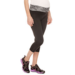 Capri Leggings-Plus Maternity